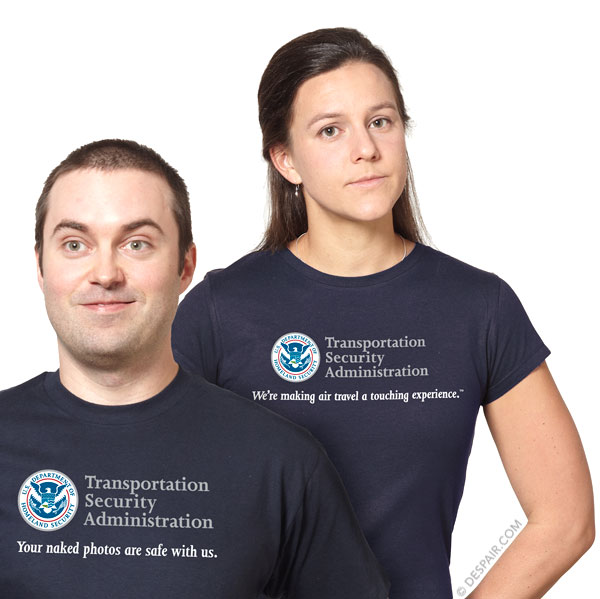 TSA - Your Naked Photos are Safe With Us and We're Making Air Travel a Touching Experience