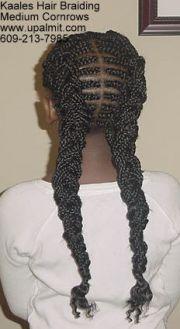 cornrows- african hair braiding