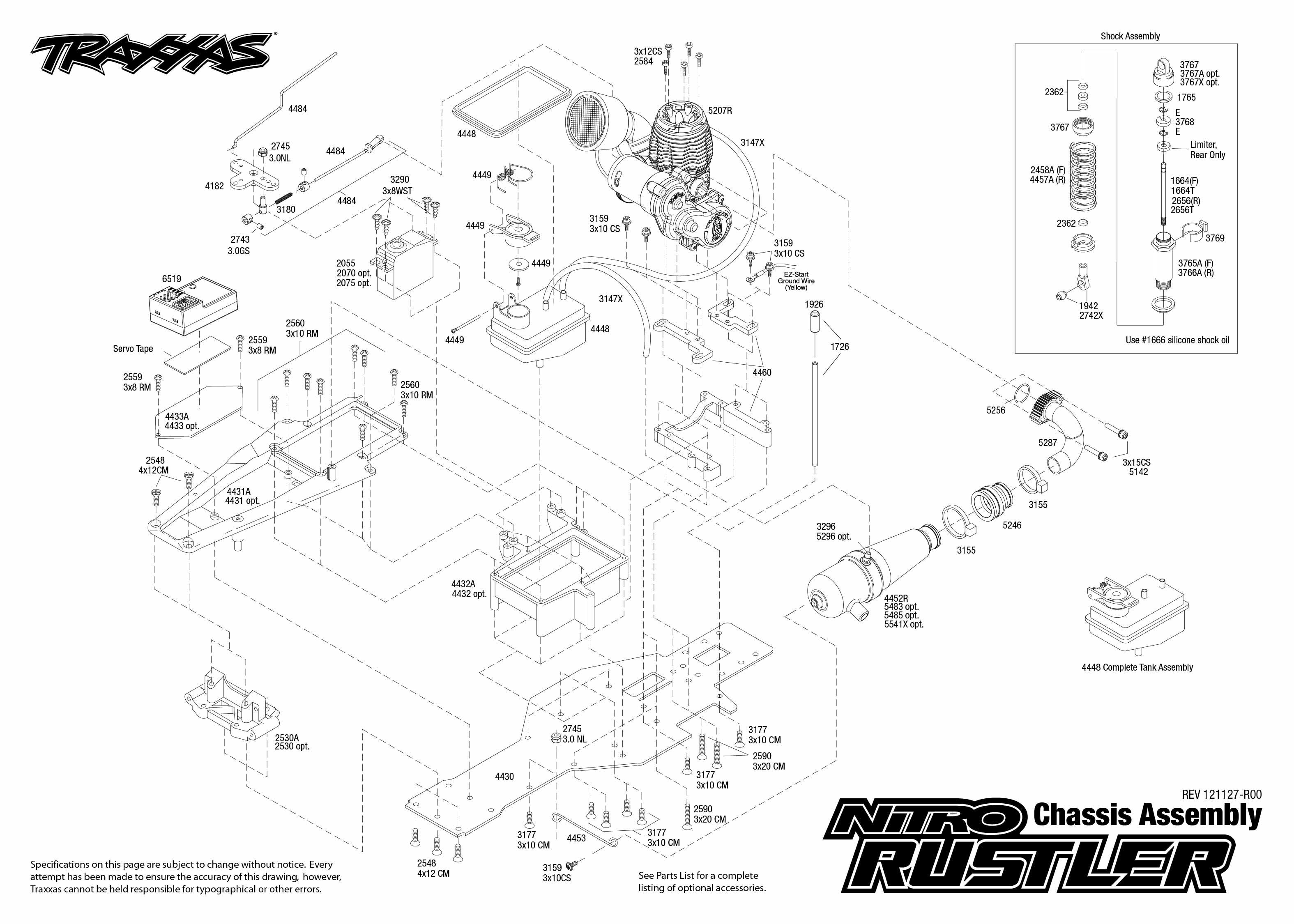 Traxxas 1 10 Scale 2wd Nitro Rustler Stadium Truck
