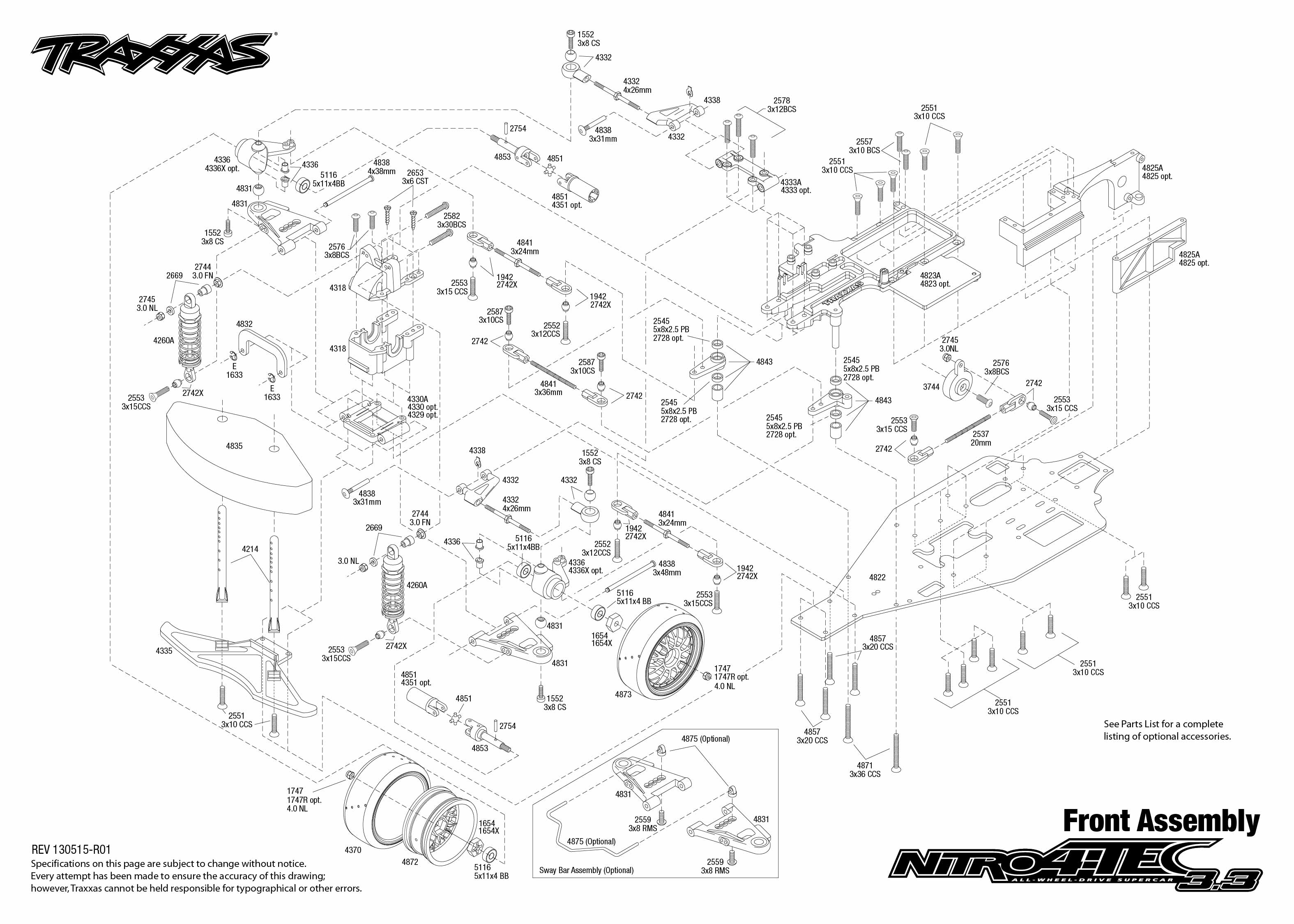 traxxas t maxx 2 5 transmission diagram electrolux wiring parts list  and engine