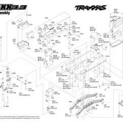 Traxxas T Maxx 2 5 Transmission Diagram Danfoss Ip55 Motor Starter Wiring 1 10 Scale 3 4wd Monster Truck 4907