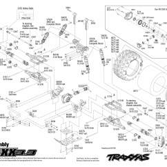 Traxxas T Maxx 2 5 Transmission Diagram Hot Rod Headlight Wiring 1 10 Scale 3 4wd Monster Truck 4907