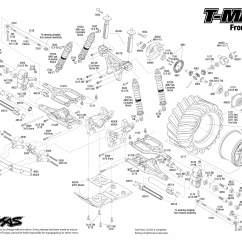 Traxxas T Maxx 2 5 Transmission Diagram Underfloor Heating Thermostat Wiring 1 10 Scale 4wd Monster Truck 49104