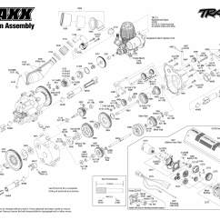 Traxxas Revo 3 Parts Diagram Shark Muscular System 2 5 Engine Exploded View