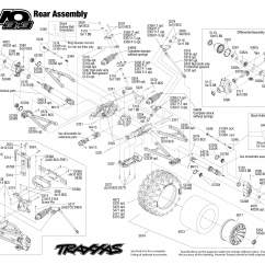 Traxxas T Maxx 2 5 Transmission Diagram 1998 Honda Civic Engine E Revo Parts Rustler