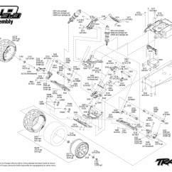 Traxxas Revo 3 Parts Diagram Mic Wiring Diagrams Cb 1 10 Scale 2wd Jato Stadium Truck 5507
