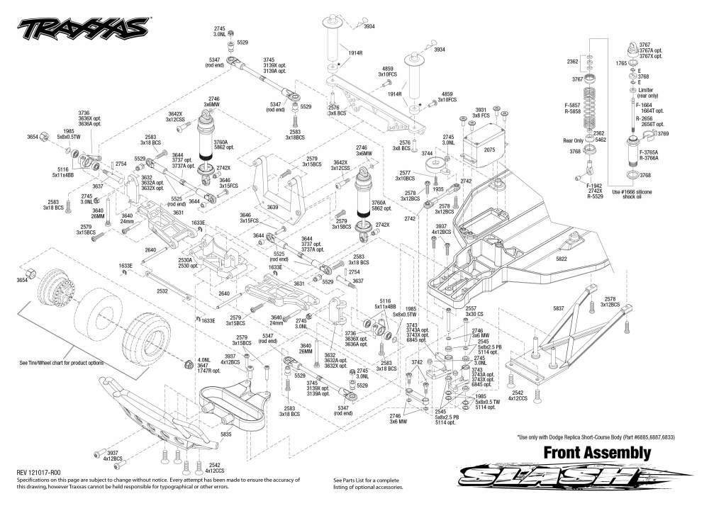 medium resolution of traxxas parts diagram traxxas parts list slash 4x4 traxxas slash steering diagram traxxas slash vxl parts diagram