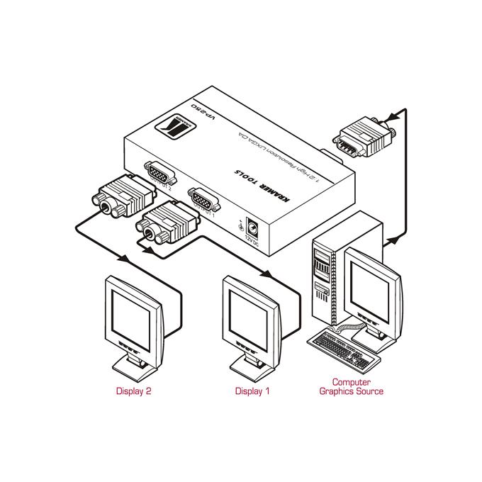 Vga Monitor Connector To 1 8 Av Plug Wiring Diagram