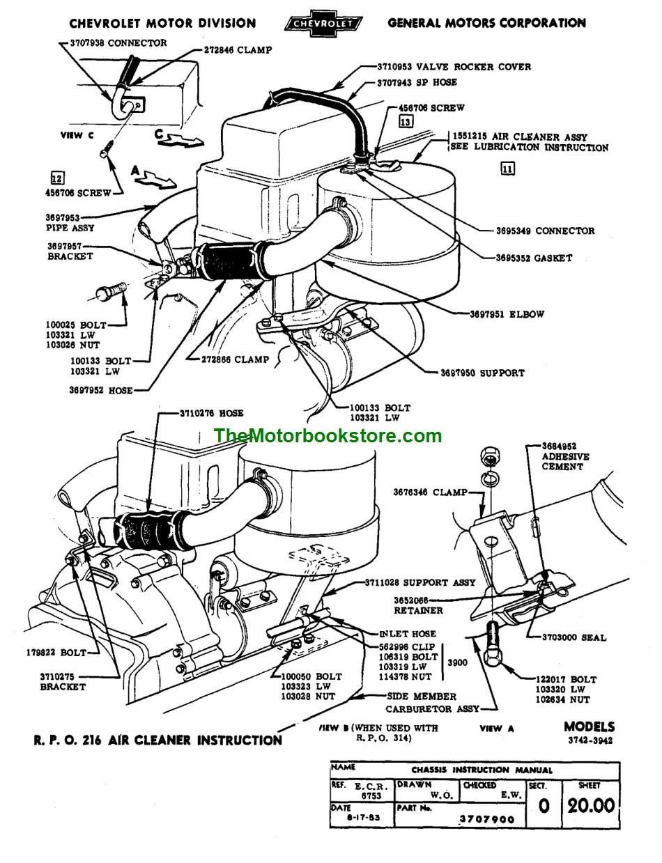 Chevy Truck Factory Assembly Manual 1947-1954 (Print Version)