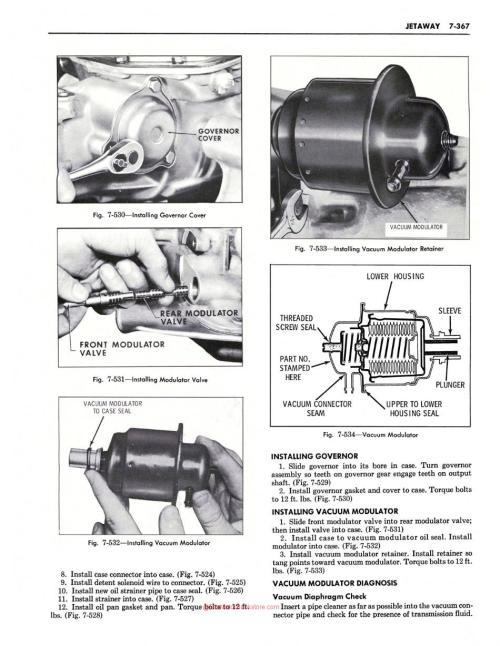 small resolution of 1969 oldsmobile shop manual sample page modulator installation