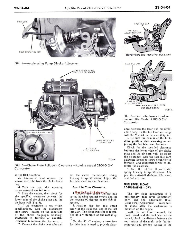 1970 Ford Car Shop / Repair Manual (5 Vol Set): Ford