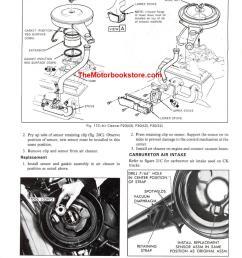 1976 chevrolet truck shop manual supplement sample page engine fuel [ 950 x 1263 Pixel ]