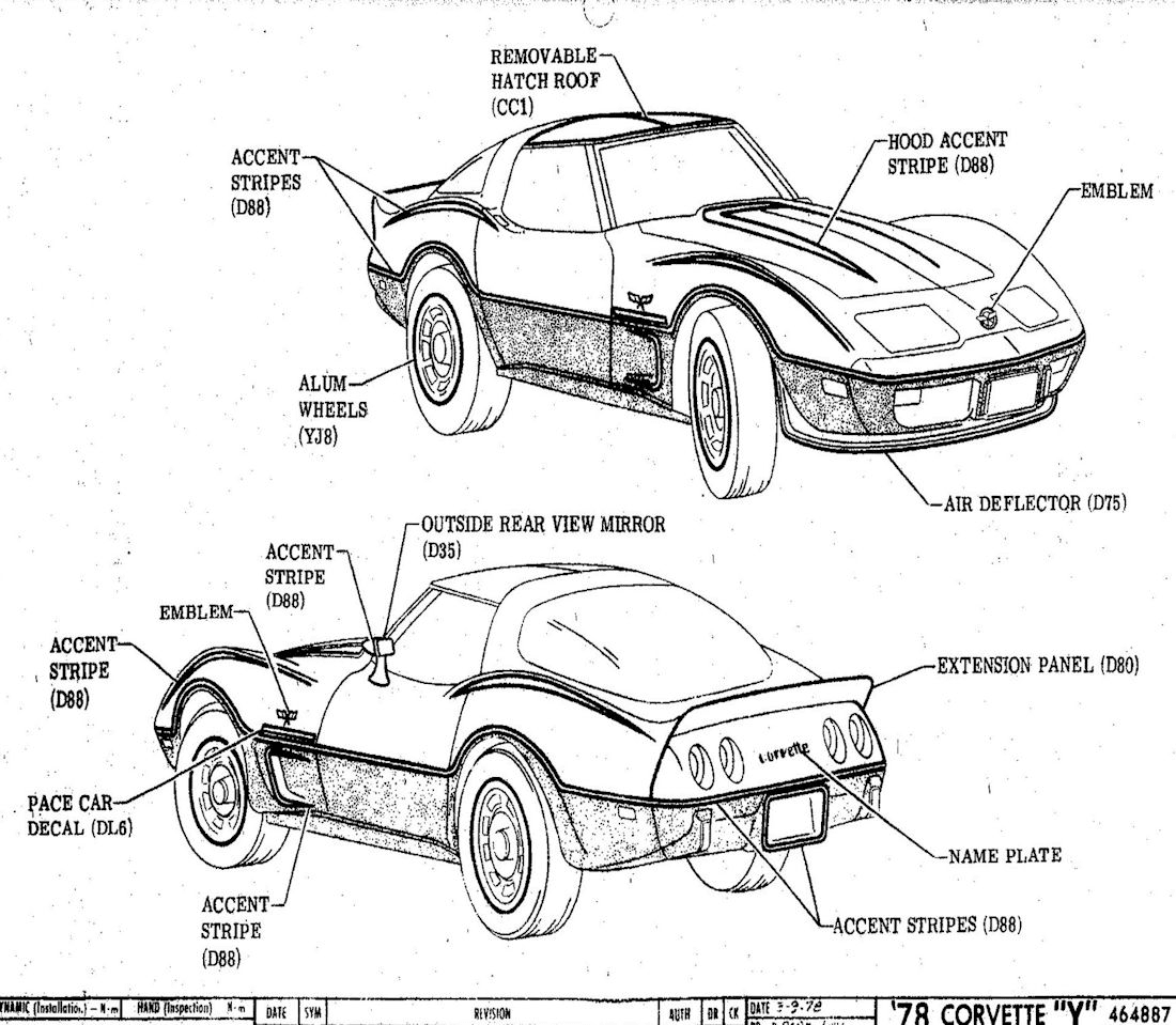 1978 Corvette Factory Assembly Instruction Manual