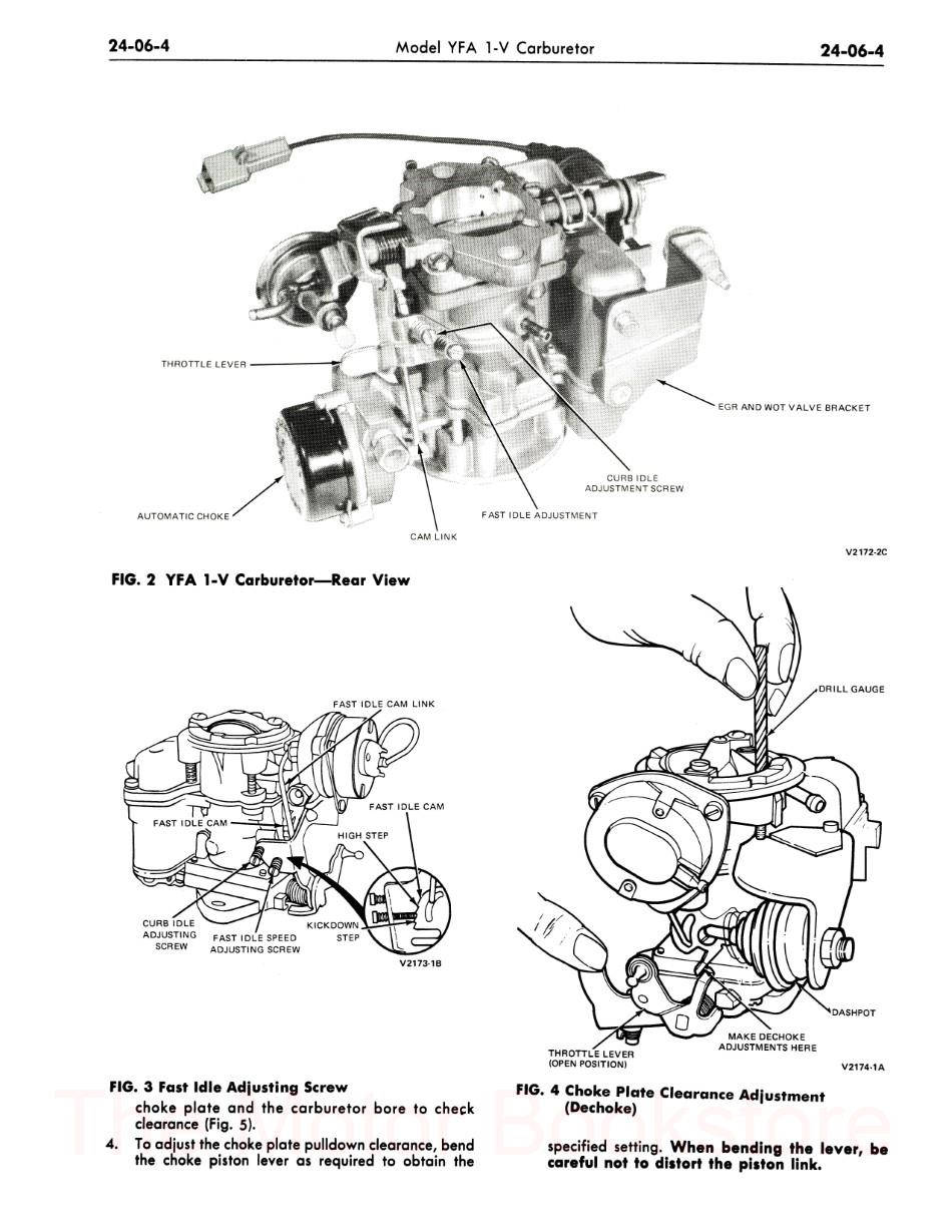 1979 Ford Truck Factory Shop Manual, F-Series, Bronco