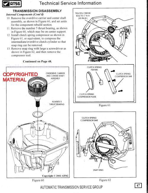 small resolution of ford trucks 4r100 transmission rebuild sample page atsg