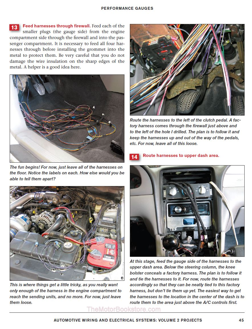 medium resolution of automotive wiring electrical systems performance gauges