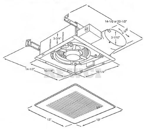 Panasonic FV-05VS3 Bathroom Exhaust Fan