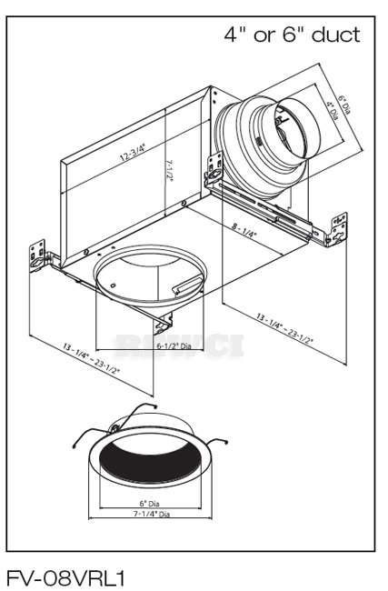 Backdraft Damper Installation Instructions