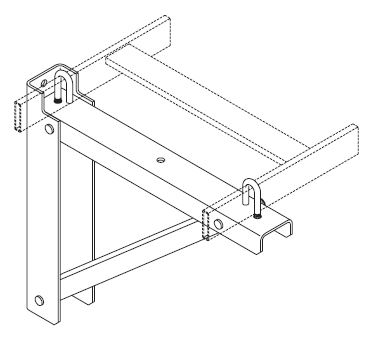 Rack Cable Ladder Mounting / Support