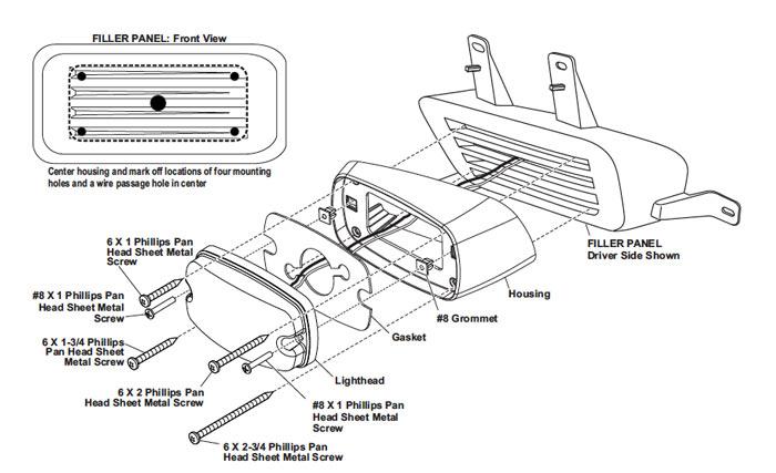 whelen linear 3 led wiring diagram
