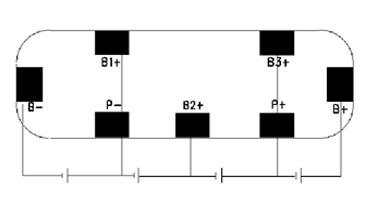 Tenergy 32010 Protection Circuit Module (PCB) for 14.8V Li