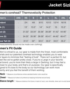Gerbing  womens jackets also sizing charts the warming store rh thewarmingstore