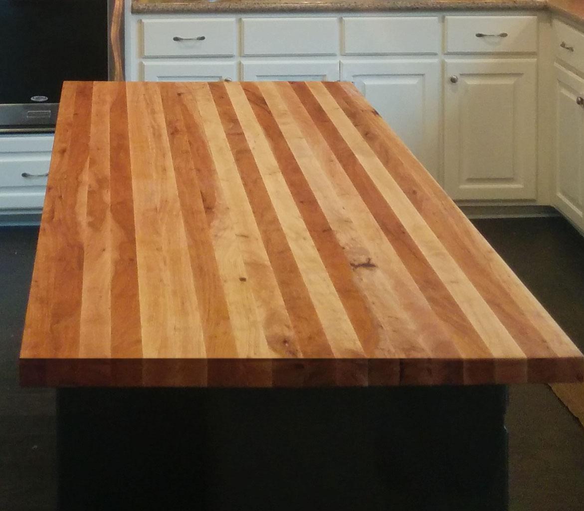 Custom Wood Bar Top Counter Tops Island Tops Butcher