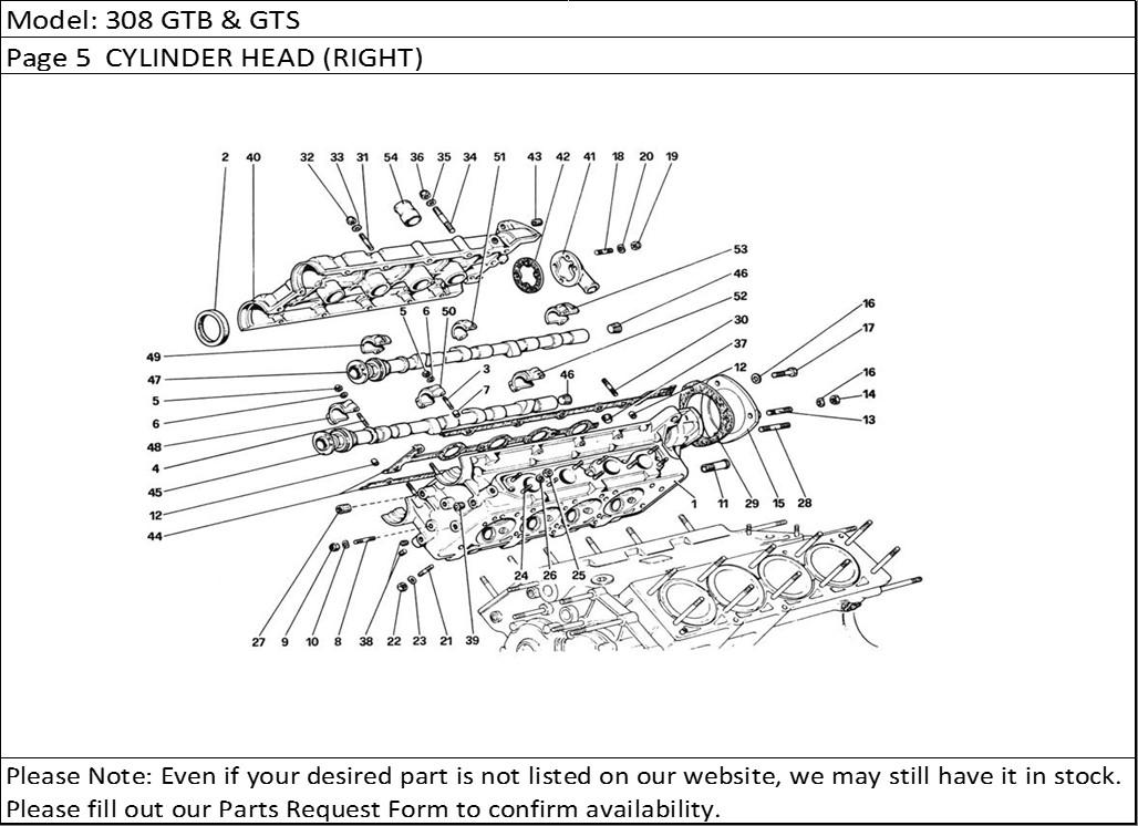 Buy Ferrari Part # 147642 DISTRIBUTOR BASE GASKET, DINO