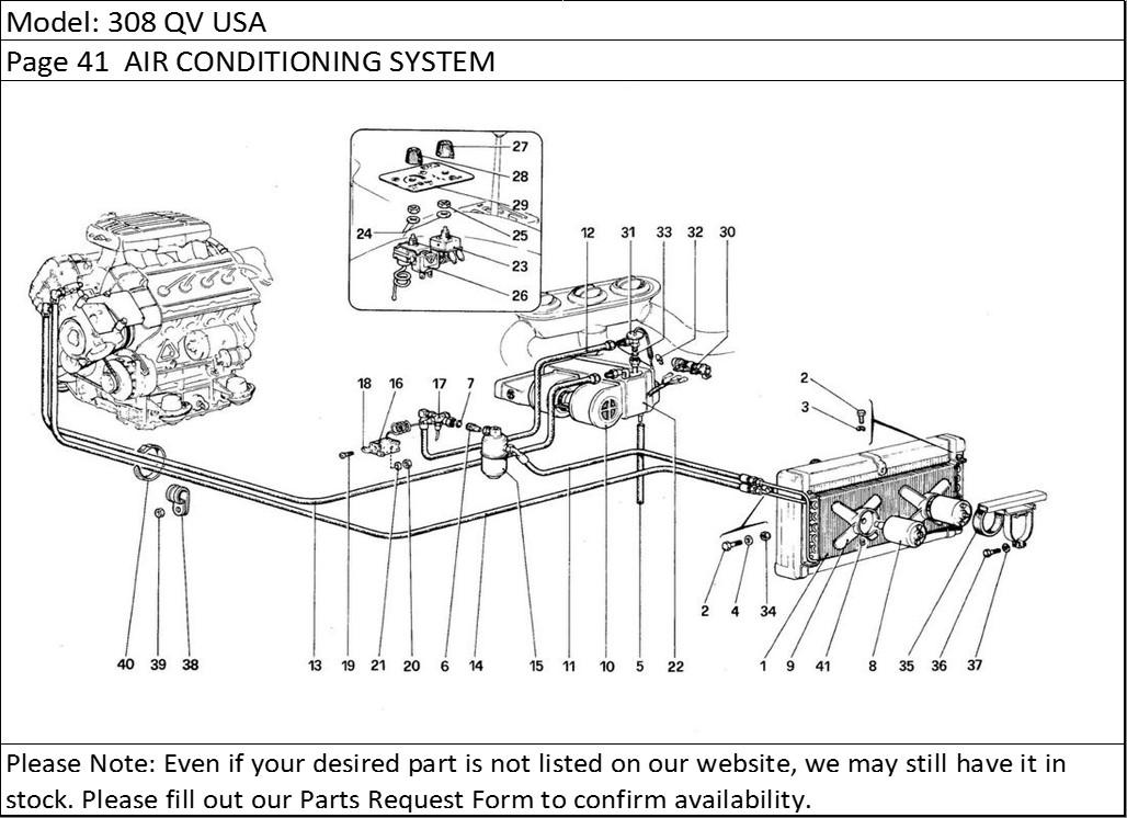 Buy Ferrari Part # 119447 RADIATOR COOLING FAN MOTOR, 308