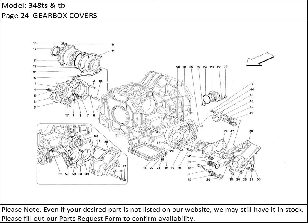 Buy Ferrari Part # 116987 SPEEDOMETER SENDING UNIT, 308
