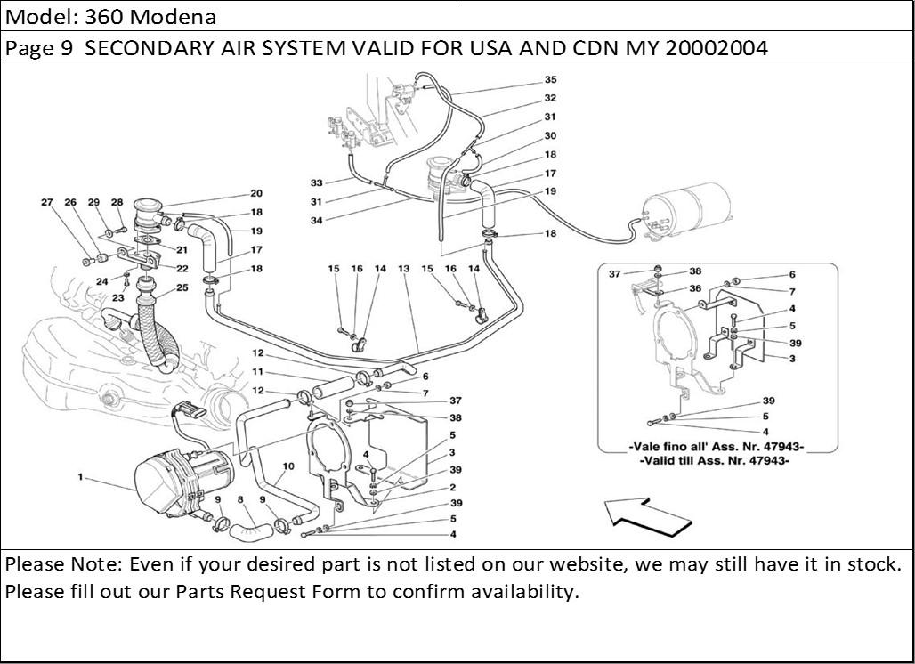 Buy Ferrari Part # 121828 TUBE(New Part #121828) Buy