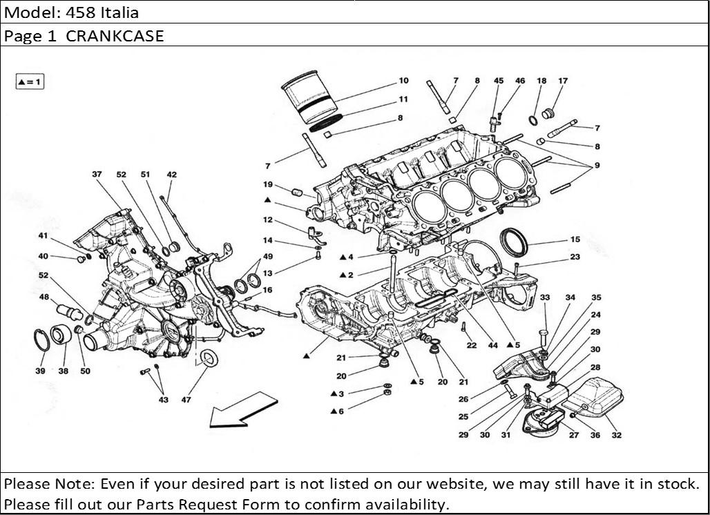Buy Ferrari Part # 187718 BLEEDER PLUG M10X1.25X10 C(New