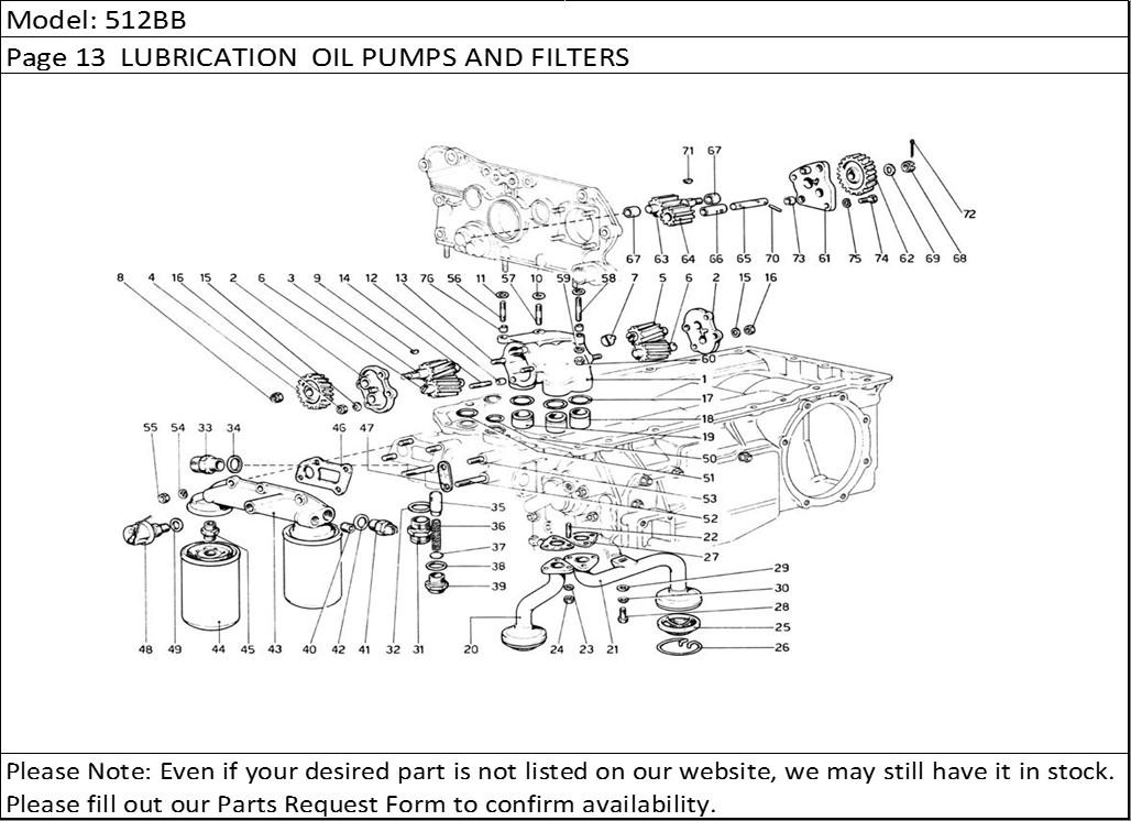 Buy Ferrari Part # 106237 ENGINE OIL BYPASS CAP, F40, F 40
