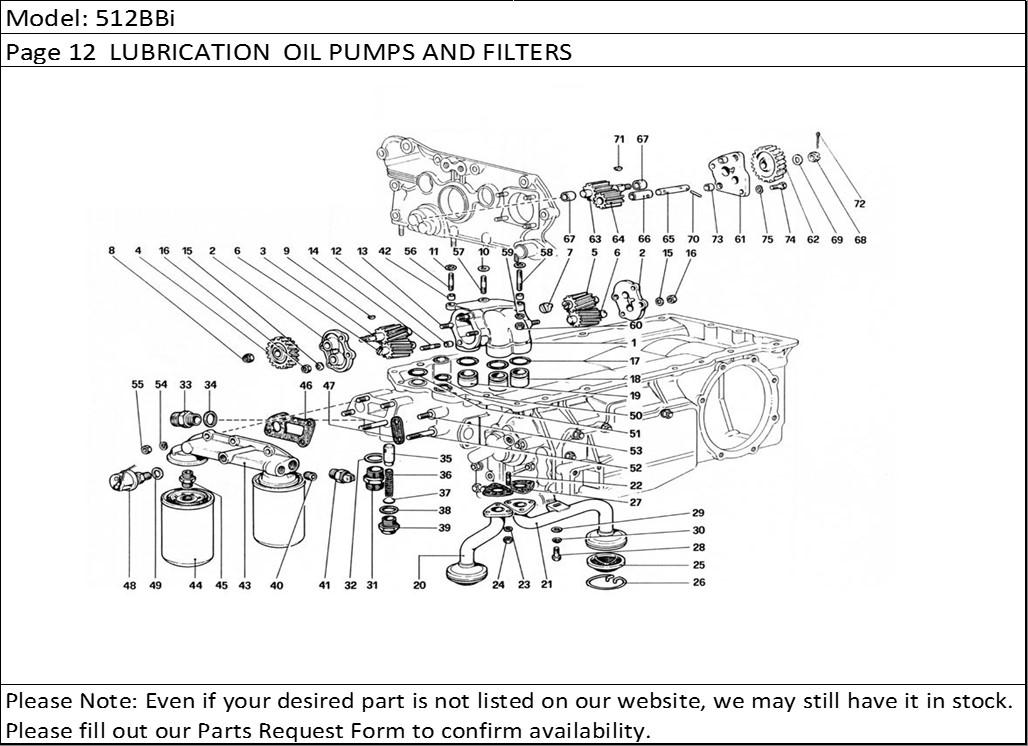 Buy Ferrari Part # 110664 OIL PRESSURE SWITCH, 288/308s