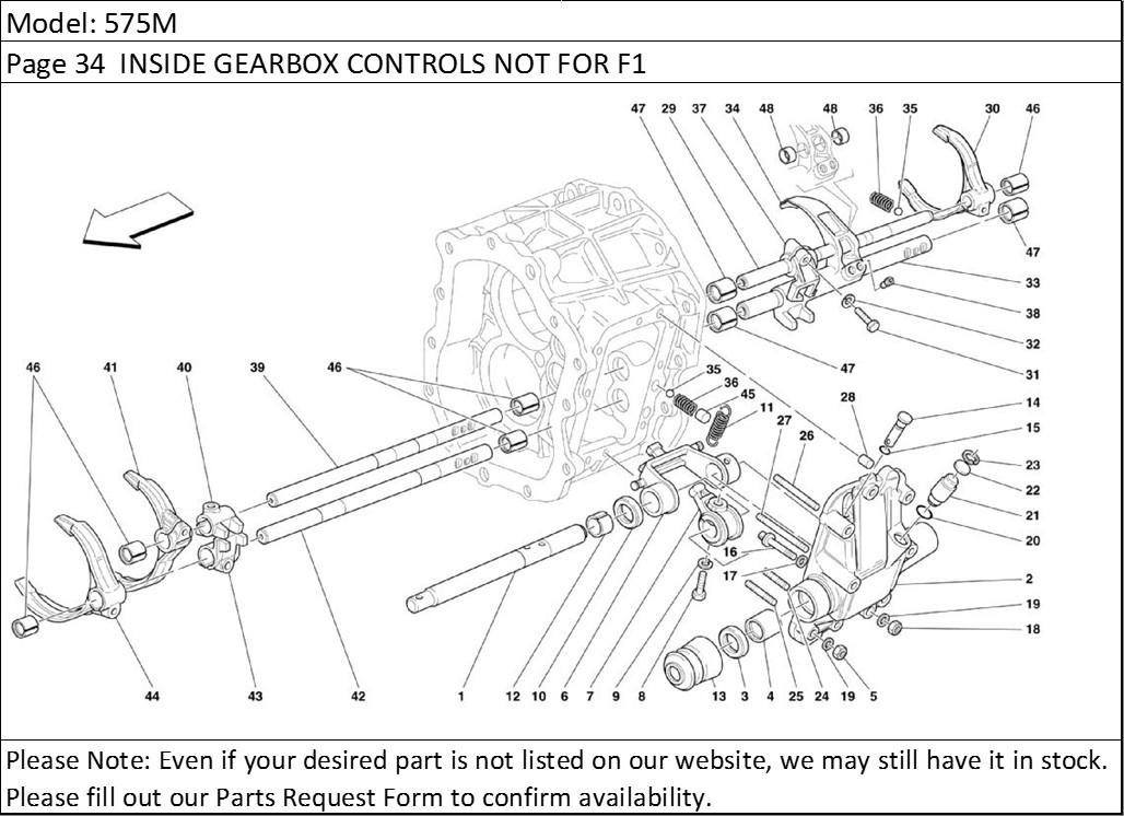 Buy Ferrari Part # 146306 GEARBOX SHIFT LEVER OIL SEAL