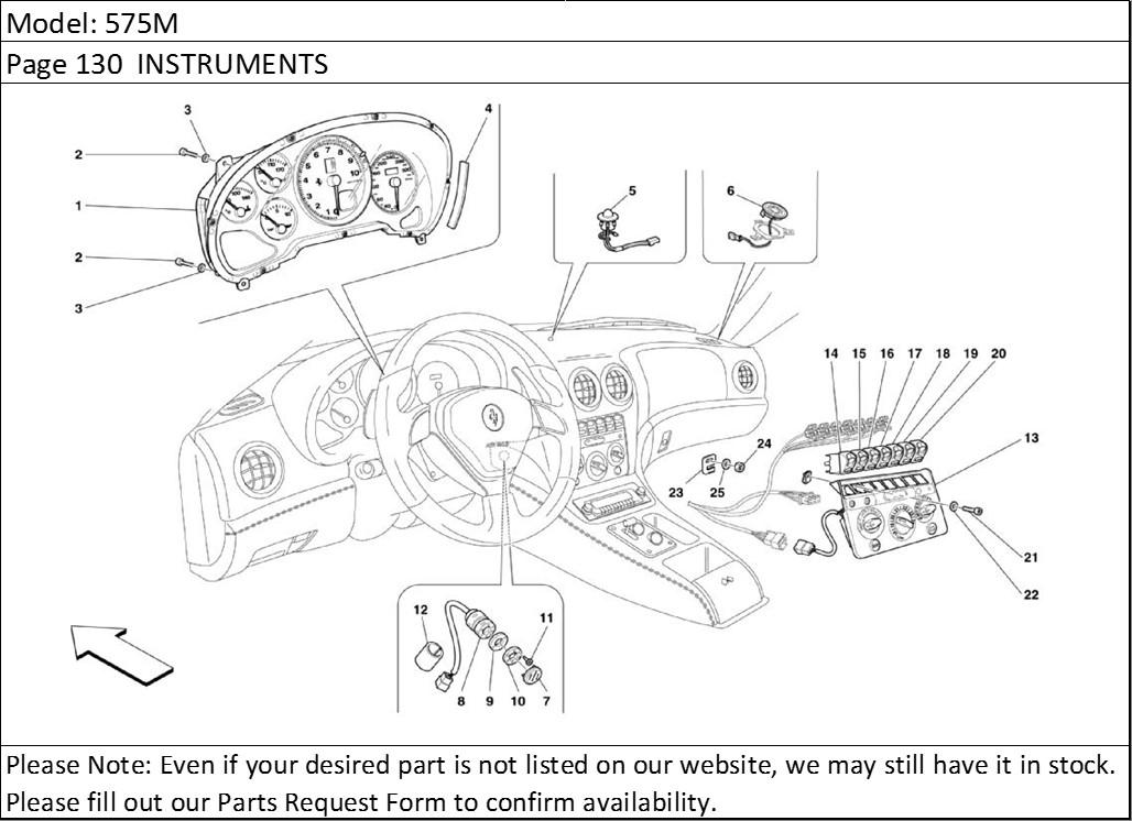 Buy Ferrari Part # 64692400 INTERMENT PANEL SOLAR
