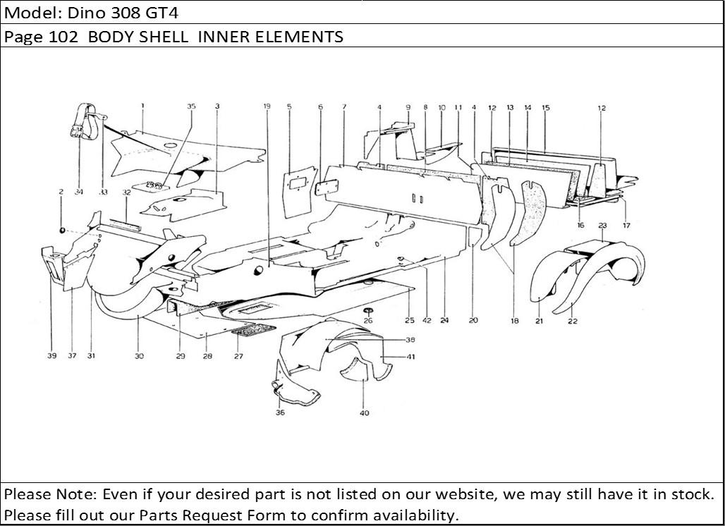 Buy Ferrari Part # 40305203 PLUG (MAR)(New Part #40305203