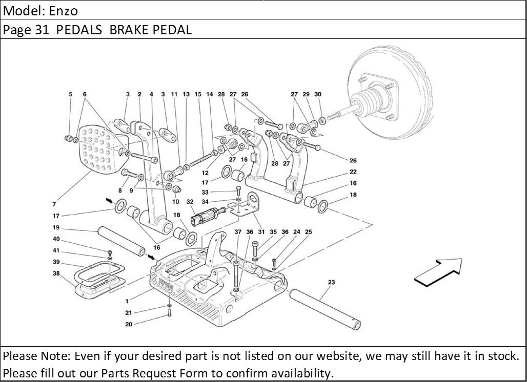 Buy Ferrari Part # 183433 BRAKELAMP, BRAKELIGHT, BRAKE