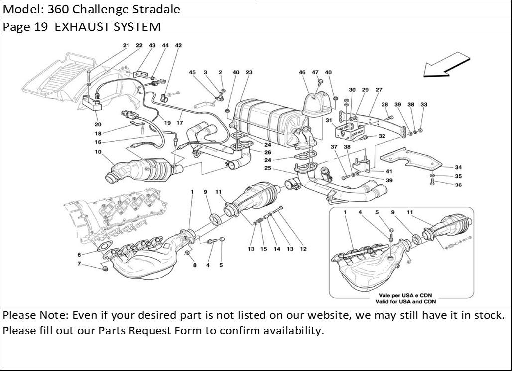 Buy Ferrari Part # 179278 CATALYST TEMP. ELECTRONIC
