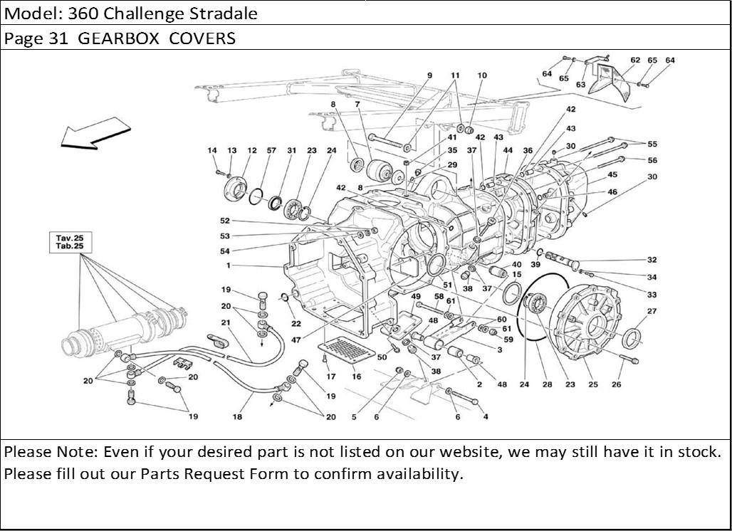 Buy Ferrari Part # 182117 GEAR BOX OIL PLUG WITH LEVEL ROD