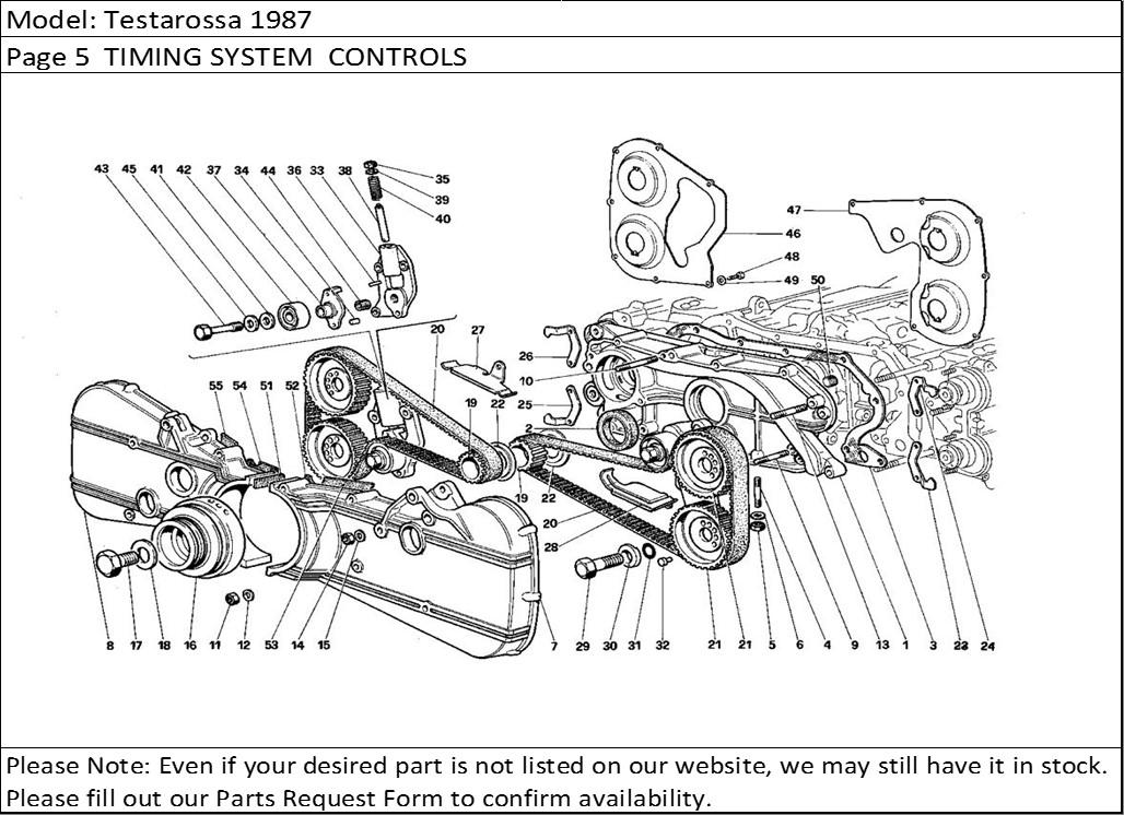Buy Ferrari Part # 116750 CAMSHAFT TIMING BELT TENSIONER