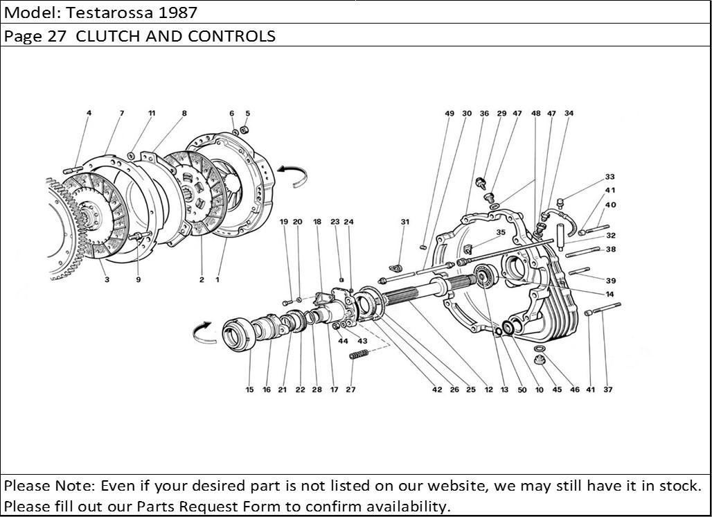 Buy Ferrari Part # 70000567 CLUTCH RELEASE BEARING