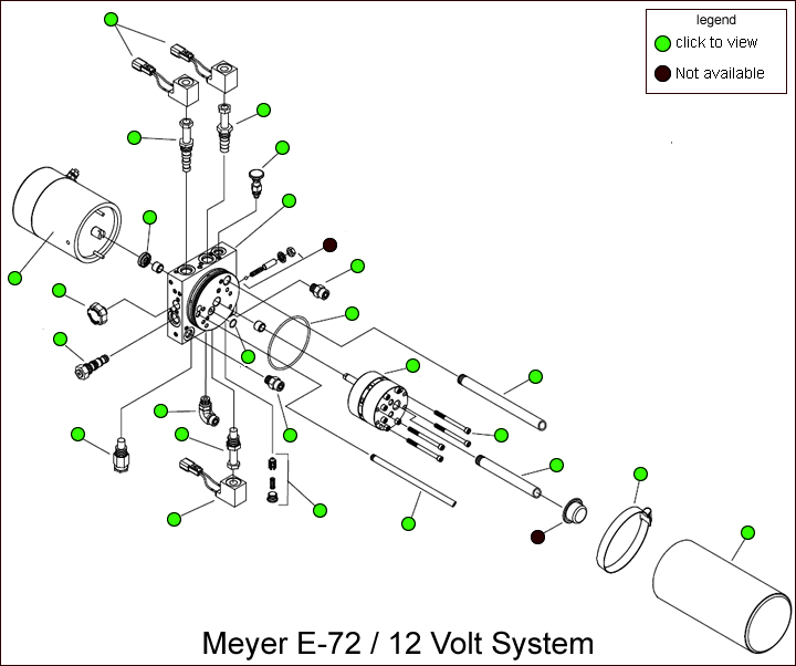 Meyer E-72 Hydraulic Pump Parts Diagram Parts Diagram Lookup