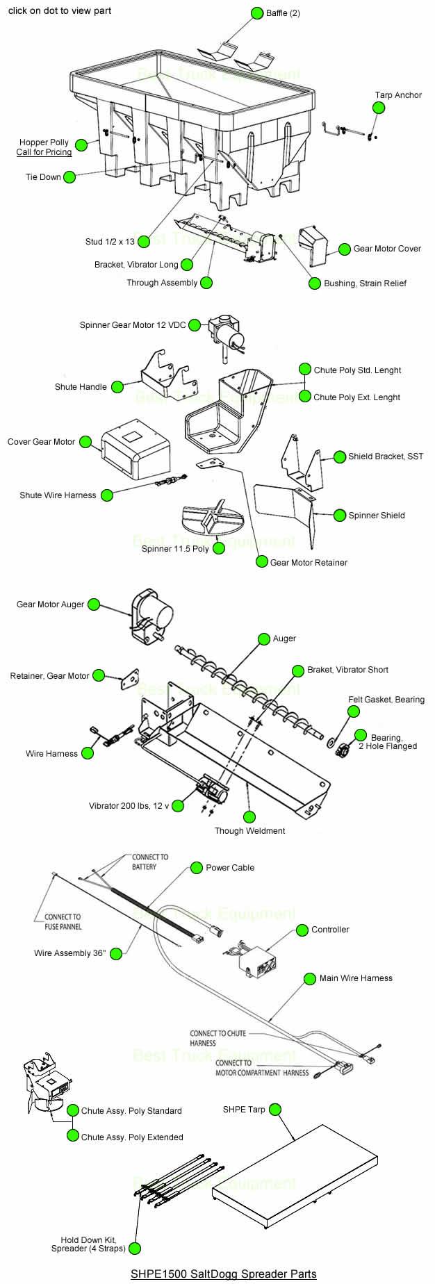 medium resolution of shpe1500 parts diagram