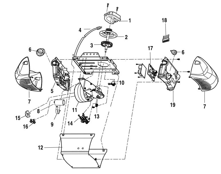 Wiring Diagram For Liftmaster Garage Door Opener : 48
