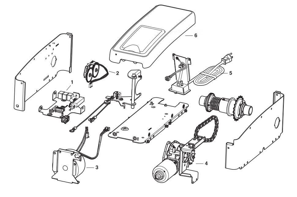 Liftmaster 8500 Repair Parts