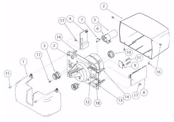 Genie AC Screw Drive Parts for Genie AC Pro 90, IS, ISL