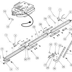 Genie Garage Door Parts Diagram Aqua Rite Chlorine Generator Wiring Excelerator Pro Rail