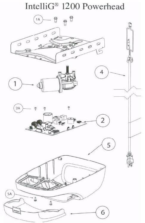 Garage Door Opener Parts for the Genie G Power 900 and
