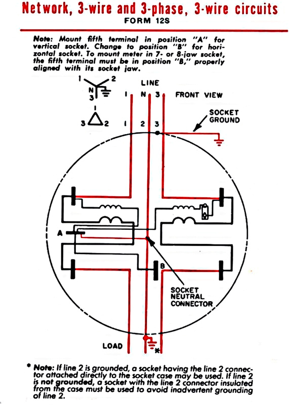 1 2 3 Phase Form 12S Large?resized571%2C800 single phase electric meter connection diagram efcaviation com Electric Meter Wiring Diagram at crackthecode.co